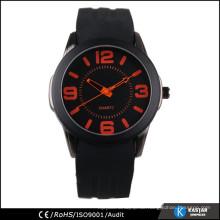 Westliche Uhr Preis Silikon Sport Uhren Männer, Quarzuhr sr626sw