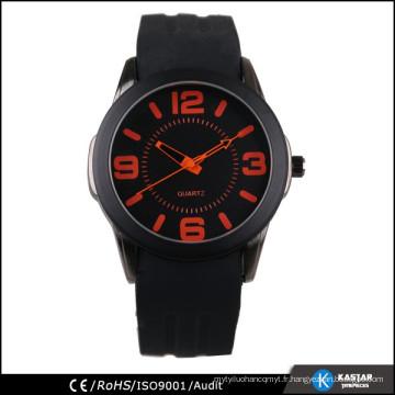 Montres de montres de silicon de montres de montres occidentales montres de montres de quartz sr626sw