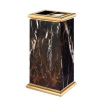 Titanium Lobby Gebrauch Mülleimer mit Aschenbecher (YW0057)