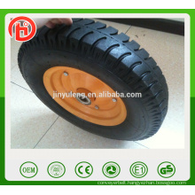 16 inch 4.00-8 Lug pattern Pneumatic wheelbarrow wheel , rubber wheel ,wheelbarrow parts