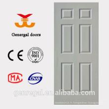 Mousse de PU remplissant la porte en bois intérieure blanche