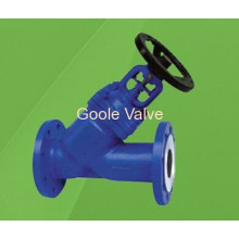 DIN Y Type Bellow Sealed Globe Valve (GWJ45H)