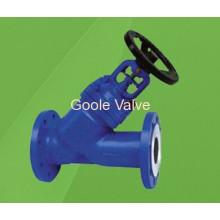 Válvula Globo Selada Tipo Fole DIN Y (GWJ45H)
