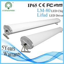 Luz baixa linear da baía de IP65 Ik10 / luz alta da baía diodo emissor de luz da Tri prova