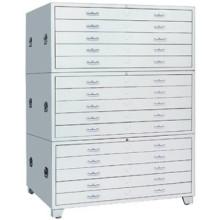 haute qualité KD structure en acier carte fichier armoire
