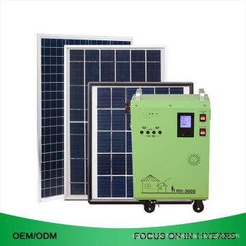 Portable Shop Günstige Startseite 400 Watt Solar Power Generator System für Land