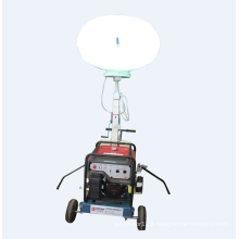 Storike gasoline inflatable balloon mobile lighting tower
