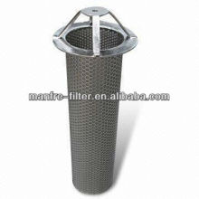 Manfre 316L stainless steel basket strainer for fine chemicals