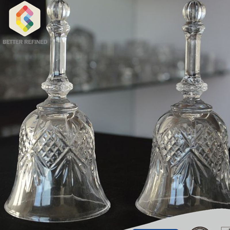 Bell Shape Glass Ornament