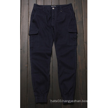 Casual Joggers Pants Big Pockets Plain Trousers