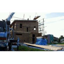 Casas pré-fabricadas de moldura de madeira de design moderno