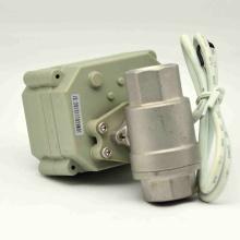 Válvula de cierre de agua de control eléctrico NSF61-G con operación manual para válvula de bola de agua potable (T15-S2-B)