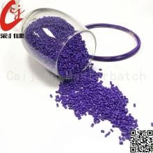 Factory Price for Cable Plastic Masterbatch Granules PVC Purple wire masterbatch export to South Korea Supplier