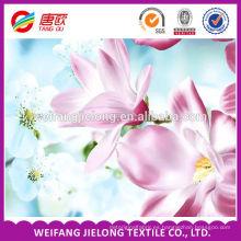 El estampado de flores fresco 100% del poliéster diseña floral hermoso imprime la tela del bedsheet