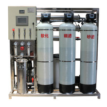 1000 L/Hr Pure Water Treatment Plants with Reverse Osmosis Membrane