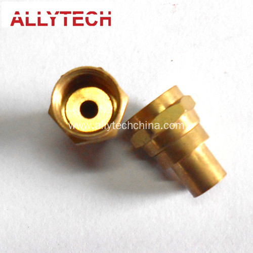 Precision Brass Milling Parts With Surface Treatment