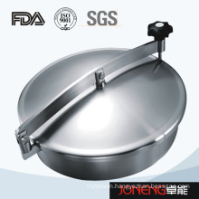 Stainless Steel Sanitary Round Type Tank Manhole Cover (JN-ML1002)