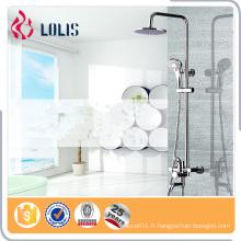Robinet d'eau de salle de bain d'hôtel, ensemble de douche sanitaire