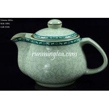 Tang Cao (Tang Dynasty Flower Design) Tee Topf-460cc Stahl Einsatz