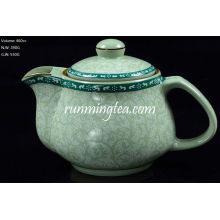 Tang Cao (design de flores da dinastia Tang) Pot Pot-460cc inserto de aço