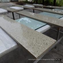 bancada de superfície maciça / contemporânea tampo de mesa maciço / de bancada sintética