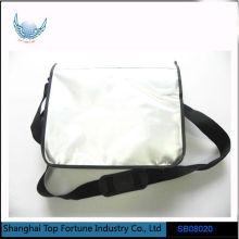 Waterproof Shoulder Silver Messenger Shiny Tarpaulin Sport Shoulder Bag