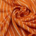 Toalla de limpieza de rayas tejidas naturales de bambú de microfibra suave