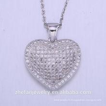 Nouveau produit 2018 valentines bijoux pendentif fabriqué en Chine