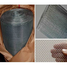 Malla de alambre cuadrada galvanizada / malla de alambre tejida