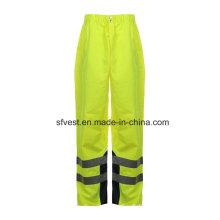 Safety PU High Visibility Reflective Waterproof Pants