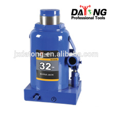 T010332 Jack de carro de garrafa hidráulica 32Ton com válvula de segurança.