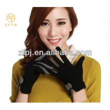 new design pretty elegant Warm grey wool gloves