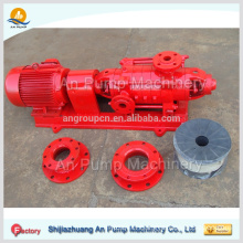Fire fighting system multistage centrifugal pumps