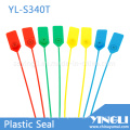 Precintos de seguridad de plástico ajustables con marcado e impresión