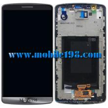Оригинальный для LG Г3 D855 ЖК-дисплей с Дигитайзер с рамкой