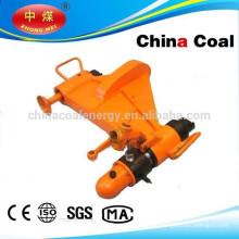 Horizontal hydraulic bending machine, rail bending machine