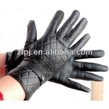 mens belt check style gloves fine leather in any colors