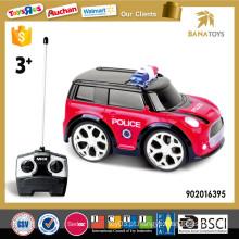 4 Função carro de polícia de controle remoto para crianças