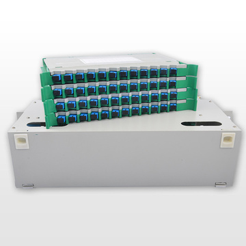 SC Type Fiber Optik Patch Panel Mini ODF