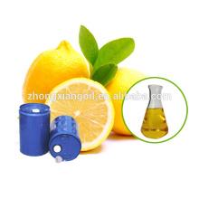 Aceite esencial de limón orgánico puro al 100% / Aceite de limón