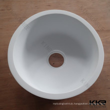 Wholesale Acrylic stone round bowl kitchen sink