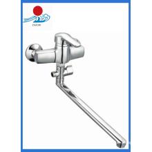 Torneira de água de misturador de cozinha monocomando de parede (ZR21903-A)