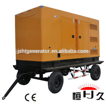 China factory 64KW/80KVA Chinese SHANGCHAI SC4H115D2 mobile diesel generator set price( 50~600kw)