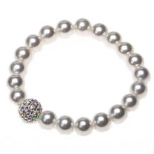 Rhinestone beaded bracelets, suitable for bride, wedding