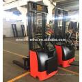 1ton 1.2ton 1.5ton Electric Stacker DC motor economical narrow legs or stacker straddle legs