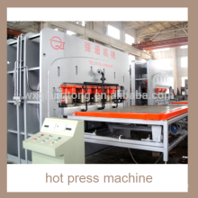 Semi-auto short cycle hot press machine/ chipboard laminating hot press machine