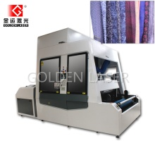 Roll to Roll Flying Laser Marking Machine for Fabrics