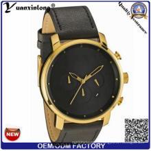 Yxl-933 Luxury Brand Известный стиль Мужчины Женщины Часы Кожаный нейлон Кварцевые наручные часы Мужские женские часы Relogio Masculino