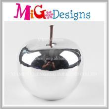 Handmade Absorbing Sliver Apple Ceramic Coin Bank