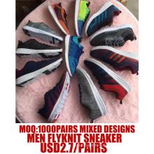 Мужчины Flyknit Не Сплетенная Спорт Бег Сникер Обувь
